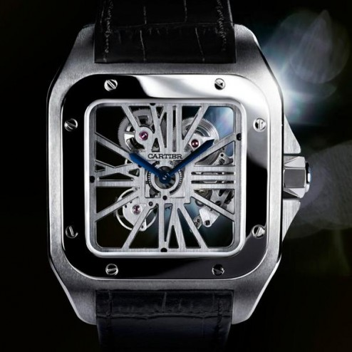 Cartier Santos Squelette Replica orologi