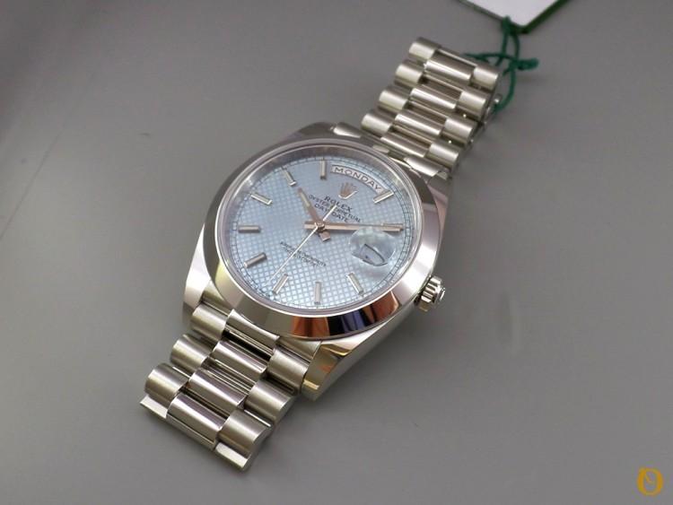 Rolex Day-Date 40 Quadrante replica