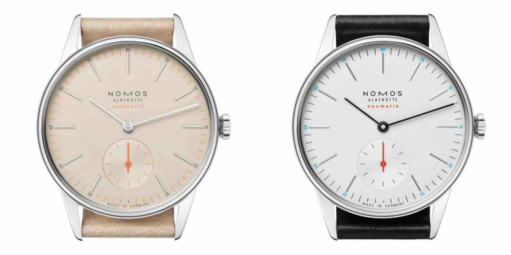orologi in acciaio nomos glashütte orion